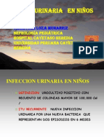 INFECCION URINARIA   EN NIÑOS