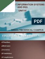 MIS-UNIT-IV