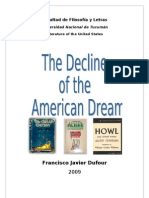 The Decline of the American Dream(1)