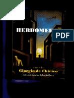 d10e76482508 33875222 Hebdomeros by Giorgio de Chirico
