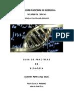 GUÍA de Biología -UNI- 2012-I