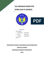 Laporan2 E1 Sulistyorini IP Address
