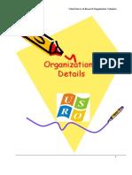 Profile of the Organization in Brief
