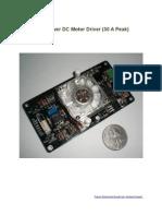 30A Motor Driver Manual