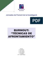 Técnicas de Afrontamiento - Burnout