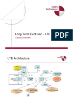 LTE Short Overview