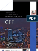 Warsaw Stock Exchange Financing Growth in CEE