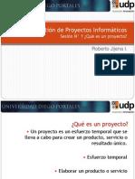 01 GPI_ Que Es Un Proyecto