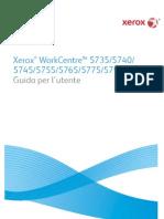 Manuale Utente Xerox 5755