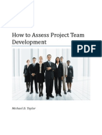 Article-How to Assess Project Team Development