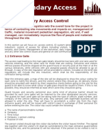 01 BSD - Site Boundary Access Control
