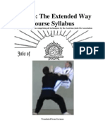 Judo-Do the Extended Way Course Syllabus