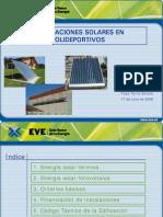Instalaciones Solares en PolideportivosTorre-Enciso