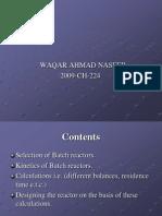 Batch Reactor 224