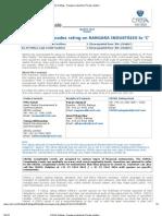 _ CRISIL Ratings - Rangara Industries Private Limited