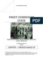 Preet Gym Chapter 1- Muscels