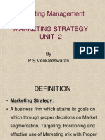 Marketing Strategy Unit 2