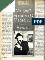 G. Simenon - Maigret felügyelo megszívja a pipáját.[scan]