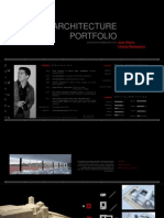 Architecture Portfolio Jose Maria Urbiola