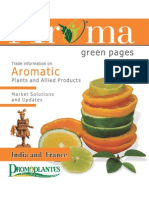 Aroma Green Pages - India and France 2012