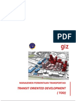 10.Transit Oriented Development (TOD)
