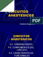 Circuitos Anestésicos - Cristina