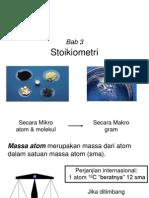Bab3 stoikiometri
