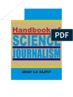 Handbook of Science Journalism FREE Sample