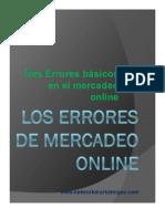 Los Errores de Mercadeo Online...