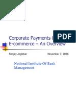NIBM -Corporate Payments & Ecommerce - Nov06