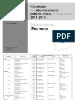 Repertoire Eple 91 Nov 2011