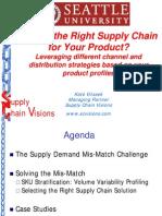 Seattle U Supply Chain Channel Strategies