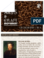 The Arts and Craft Movement