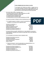 EJERCICIOS PARA INTERPRETACIÓN DEL ESTADO DE COSTOS (1)