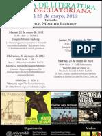 Semana Literaria Guinea