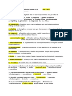 Sci 1102 Example Examination Summer 2011 Form a (KEY)