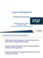 Absence Management Overview