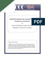 Portfolio Diversification With Commodity Futures