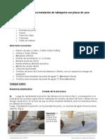 Guía rápida para instalación de tabiquería con placas de yeso