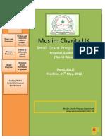 Small Grant Program Guidelines