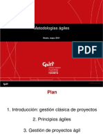 Metodologías ágiles & Scrum