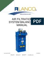Air Filtration System Balancing