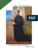 Novena do perdão - São Josemaría Escrivá