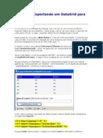 ASP - Export an Do Um DataGrid Para o Excel