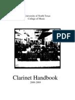 Clarinet Handbook Complete