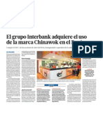 Grupo Interbank compra Chinawok y expande negocios