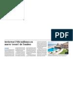 Nuevo Hotel en Tumbes invierte 4 millones de dólares