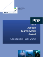Internship Application Pack 2012