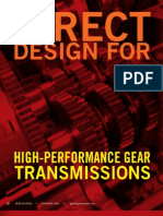 Direct Design for High Perform Ace Gear Transmissions