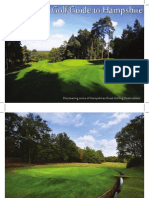 Golf Guide to Hampshire 2012